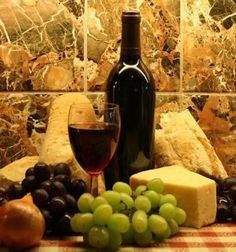 Autumn Equinox:  Wine and cheese.
