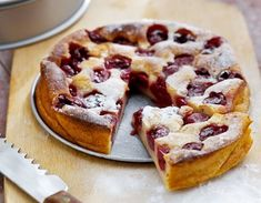 Airfryer Cherry Clafoutis recipe – All recipes Australia NZ Cerise De Montmorency, Cream Of Tomato, Gourmet Recipes, Cooking Recipes, Cherry Clafoutis, Lactose Free Recipes, French Dishes, Air Fryer Recipes, Sin Gluten