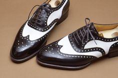 NEW STYLE #hiroyanagimachi #spectator #bespoke #japan #shoes