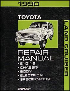 13 best toyota land cruiser manuals images on pinterest toyota rh pinterest com Old Toyota Land Cruiser Land Cruiser Factory Manual