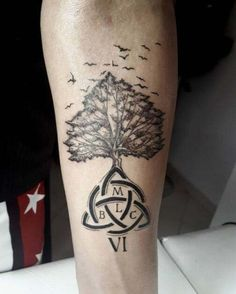 prefect 100 Family Tree Tattoo Design