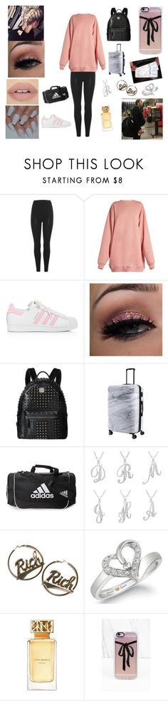 """""""Addiction #5"""" by bekahrosee ❤ liked on Polyvore featuring adidas Originals, Acne Studios, adidas, MCM, CalPak, Sterling Essentials, Joyrich, Tory Burch and Casetify"""