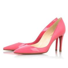 2015 Cheap Christian Louboutins New Decoltissimo 85 mm Leather Pumps Pink Outlet With 70% Off Sale.