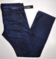 Diesel men's jeans size 34x30 regular slim straight wash #0844C style SAFADO  #DIESEL #Straight