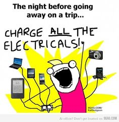Charge ALL the electricals! Hyperbole And A Half, No Kidding, I Love To Laugh, Funny Cartoons, True Stories, Just In Case, I Laughed, Laughter, Funny Pictures