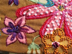 SWEETYPIE 50 Mad Women, Textile Artists, Fabric Art, Bellisima, Bunting, Fiber Art, Hand Embroidery, Stitching, Doodles