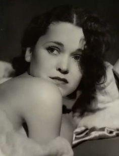 Maureen O'Sullivan, photographed by George Hurrell (1931)