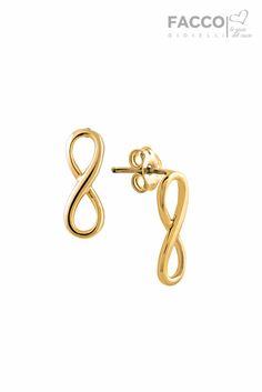 Orecchini donna, Facco Gioielli, in oro 750‰, infinito.