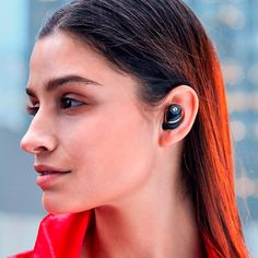 Celebrating the best wireless earbuds bring you closer to your goals, the Raycon True Wireless collection is made for all who aim to power their hustle through technology. Man Gear, Gel Tips, High Tech Gadgets, Wireless Headset, Silicone Gel, Noise Cancelling, Dark Hair, Hustle, Inventions