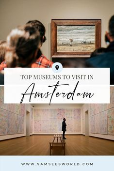 I have therefore narrowed down the top museums you should visit when staying in Amsterdam. By the way, visiting one of the over 70 museums can often serve as an emergency plan in the event of an unexpected rainy day, which actually happens quite frequently. This article will help you choose the right museum for your taste and plan your trip to the city of Amsterdam in the most effective way. Amsterdam Itinerary, Amsterdam City Guide, Amsterdam Travel, Museum Guide, Travel Tips, Travel Destinations, See World, Plan Your Trip, European Travel