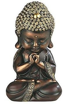 Golden Sitting Baby Buddha Figurine Religious Buddhism Collectible New Statuette, Gold Baby Buddha, Little Buddha, Buddha Decor, Buddha Art, Buda Zen, Small Buddha Statue, Buddha Painting, Mural Painting, Sitting Buddha