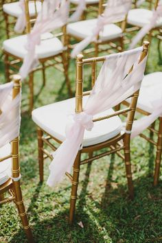 Chair decor. Photo by Jonathan Ong. www.theweddingnotebook.com