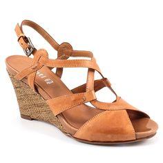 Scarpe moda donna: Zeppe 7793 Cuoio