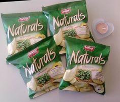 Naturals - Chips der Firma Lorenz Eine neue ungewöhnliche Geschmacksrichtung, die süchtig machen kann. Dünne knusprige Chips mit leichtem Rosmaringeschmack. Sie sind fettreduziert und das neueste Produkt in einer ganzen Reihe leckerer Premium-Chips. Etwas teurer, aber wirklich auch leckerer, als die üblichen mit Paprika.