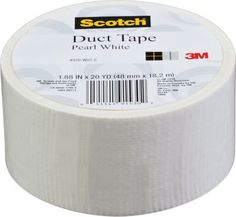 Staples®. has the Scotch® Brand Duct Tape, Pearl White, 1.88'' x 20 Yards you need for home office or business. FREE Shipping on all orders over $45, plus Rewards Members get 5 percent back on everything!