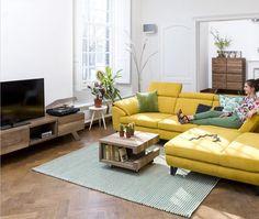 XOOON Wohnzimmerserie Garda - aus Massiv Kikar Holz #XOOON