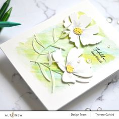 The Ton Stamps, Cosmos Flowers, Altenew Cards, Watercolor Effects, Friendship Cards, Flower Cards, Your Cards, Birthday Cards, Card Making