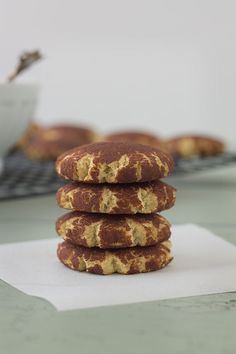 Snickerdoodles (Paleo, Grain Free, Gluten Free) | Slim Palate - Almond and Coconut Flour.  Very Simple!