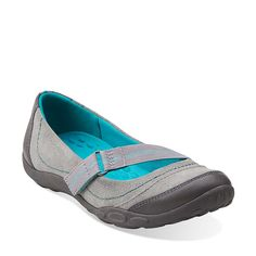 Haley Braeburn in Grey - Womens Shoes from Clarks