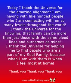 Soul Family ~ Alignment Affirmations
