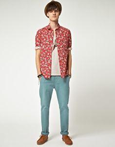 ASOS Bandana Print Shirt