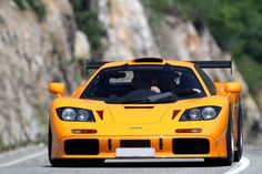 """Production run  Chassis #07R. It finished 5th at Le Mans in 1995 after participating in McLaren's 7 car assault on La Sarthe. #07R was one of the first 9 GTRs produced before alterations for '96 and the extension of production by another 10 cars and before the FIA GT1 rule change and the development of the """"Long Tail.""""  McLaren F120th Anniversary Tour"""