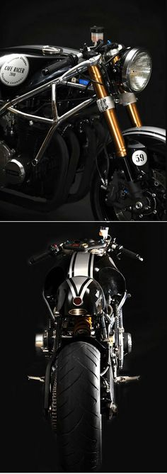 Kawasaki Z1000 Café Racer by Santiago Chopper #motorcycle #motorcycles #bike #bikes #choppers #scooters #vespa #motard #parts #accessories #design #tuning #luxury #exotique #classic #future #rototype #sport #concept