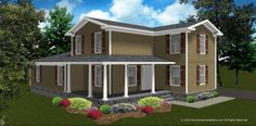 The Auburn house plan has a compact design aimed toward affordable construction. This  floor plan also fits well on smaller building lots. Complimented with curb appeal and comfotrable size rooms for family and entertaining as well. this home design only 1,876 square feet.