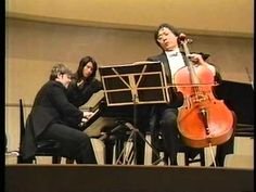 Cello Sonata No.1 in F major op.5-1 (L.V.Beethoven ) Cello:Yo-Yo Ma Piano:Emanuel Ax 1985.11.28 Tokyo チェロソナタ第1番(ベートーヴェン) チェロ : ヨーヨー・マ ピアノ : エマニュエル・アックス 1985年...