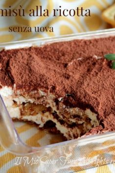 Sweet Desserts, Delicious Desserts, Yummy Food, Italian Recipes, Mexican Food Recipes, Best Apple Pie, Italian Cake, Indonesian Food, Something Sweet