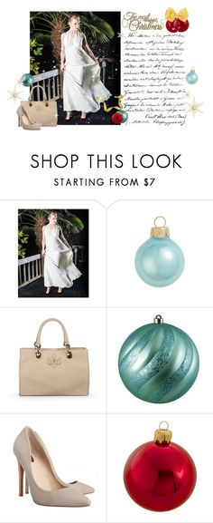 """Celebrate this #Christmas in style with @my_LizaVeta @CataleyaLondon #Janikoshoes #ShopAtMayfair"" by atmayfair ❤ liked on Polyvore featuring Kurt Adler"