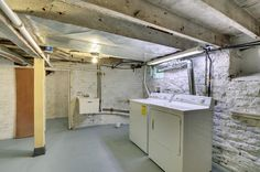 No scary basement here! Everything is fresh and spotless.