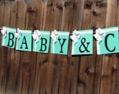 Baby & Co Banner - Tiffany and Co inspired