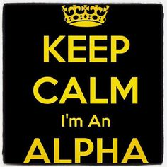 Mother of a proud Alpha Man