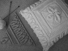 Ravelry: Project Gallery for Bedspread (Counterpane with Leaves) pattern by A.M.