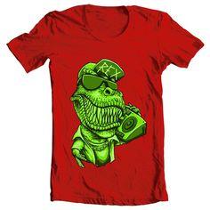 T Rex T shirt design