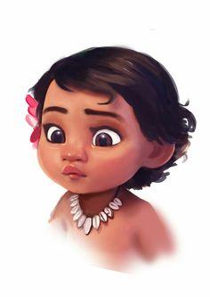 Baby Moana by BunnyQueenT on DeviantArt Moana Disney, Moana Wallpaper Iphone, Disney Wallpaper, Cartoon Wallpaper, Disney Babys, Cute Disney, Disney Art, Disney Animation, Disney And Dreamworks