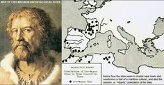 Atlantis and the Cro Magnon Invasion of Europe Cro Magnon, Dna Facts, European People, Dna Genealogy, Human Evolution, Out Of Africa, Historical Maps, World History, Anthropology