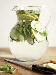 Refreshing 'spa' water.