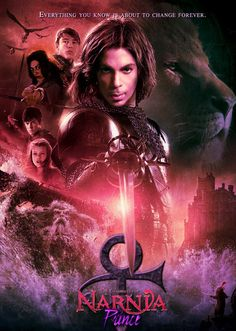 Done for a contest that involved changing a movie poster, I chose to put the Artist sometimes known as Prince into the Chronicles of Narnia flick Prince. The Artist Prince Caspian Pictures Of Prince, Rare Pictures, Purple Rain Movie, Prince Concert, Sign O' The Times, The Artist Prince, Prince Caspian, Paisley Park, King Of Music
