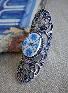 Delft Blue Ring