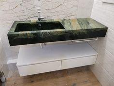 Sink, Vanity, Bathroom, Color, Home Decor, Style, Sink Tops, Painted Makeup Vanity, Washroom