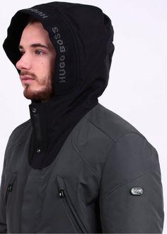 Jenato Jacket - Dark Grey Hugo Boss 3d7236dba