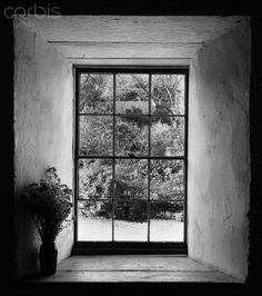 Window, Stevenson House, Monterey, California, 1953 by Ansel Adams