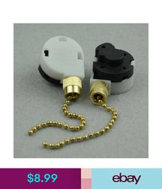 Leviton Pull Chain Socket Vintage Chapman Bouillotte Table Lamp Brass Double Socket Pull Chain