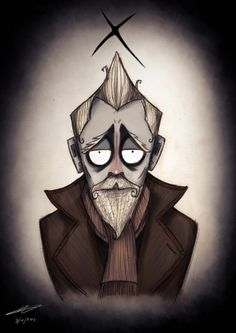 Doctor Who by Tim Burton - The #X Doctor