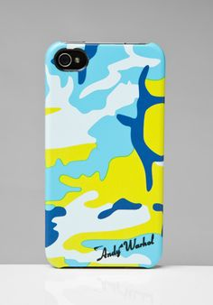 INCASE Andy Warhol Camo Snap Case for iPhone 4 at Revolve Clothing - Free Shipping! $30