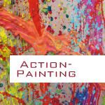 Kreativprojekte - als Teambuilding oder Teamevent   Müller & Blaschke   Actionpainting - Teambuilding - Kreativprojekt