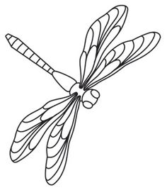 Miniature Menagerie Dragonfly | Urban Threads: Unique and Awesome Embroidery Designs