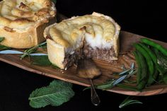 Minted lamb Pies with Mash Potato Topping